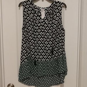 NEW Women's Crown & Ivy Sleeveless Top 1x